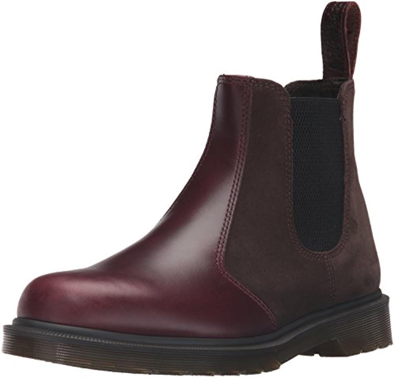 Dr.Martens 2976 Brando Hi Suede Dark Brown Mens Boots