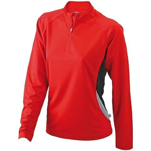 James & Nicholson - Camiseta de running para mujer