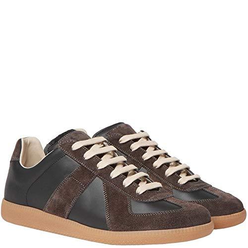 Margiela Maison Replica Sneakers in Pelle e Sneakers in Pelle 6 Brown