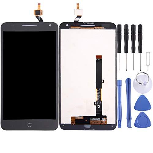 Handy-LCD-Bildschirm LCD-Display und Digitizer Vollversammlung for Alcatel One Touch Pop 3 5.5/5025 (schwarz) (Color : Black)