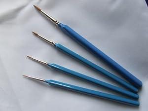 Springer Pinsel Springer Pinsel3338-3/0 - Cepillo de Pintura Triangular para Acuarela con Pelo Kolinsky (tamaño 3/0)