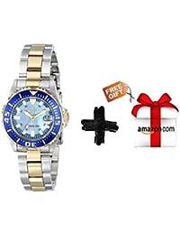 Invicta 2961 Pro Diver Collection Lady Abys - Reloj de Buceo con Dos Tonos para  Mujer 67d99bfd9aad