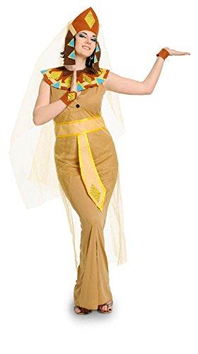 Folat 63303 - Kostüm Ägypterin für Erwachsene, 5-teilig, L/XL, Hellbraun