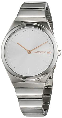 Lacoste Womens Analogue Classic Quartz Watch with Stainless Steel Strap 2001054