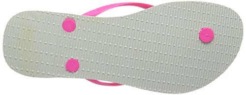 Havaianas Slim Cool, Infradito Donna White/Rose