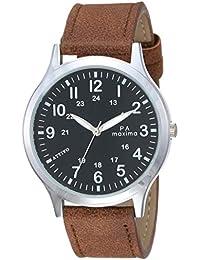 Maxima Analog Black Dial Men's Watch-O-57341LMGI
