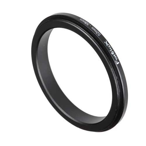 Fotodiox 52-58mm Macro Close-up Reverse Ring for Nikon, Canon, Sony, Olympus, Pentax, Panasonic and Samsung Camera  available at amazon for Rs.19742