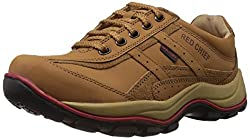 Redchief Mens Rust Leather Trekking and Hiking Footwear Shoes - 6 UK (RC2020 022)