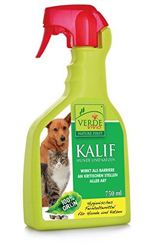 VerdeVivo KALIF Hunde und Katzen Fernhaltemittel Vergrämungsmittel, 750 ml