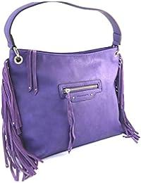 Francinel [M4630] - Sac bandoulière 'Romy' violet (40x26. 5x13 cm)