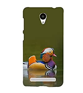 printtech Nature Bird Duck Back Case Cover for VIVO Y28 Y28L