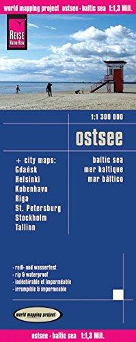 Reise Know-How Landkarte Ostsee (1:1.300.000) mit Stadtplänen Danzig, Helsinki, Kopenhagen, Riga, St. Petersburg, Stockholm, Tallinn: world mapping project: Alle Infos bei Amazon