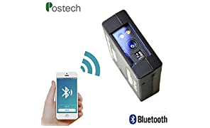 Wireless Wearable Scanner with 2D Imager 752X480 CMOS Sensor, 2D Barcode Scanner- PDF417 & Data Matrix | MS3392-M Barcode Reader with 6000pcs Memory for Logistic & Erp Systems by Posunitech