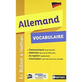 Vocabulaire Allemand - Robert & Nathan