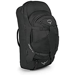 Osprey Farpoint 55 Men's Travel Pack with 55L Detachable Daypack, Gris (Volcanic Grey) (M/L)