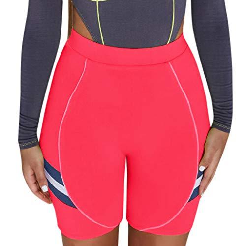 ABsoar Damen Firming Strumpfhose Yoga Shorts Trainingshose Laufen Kurze Hosen Sport Nahtlose Leggings Freizeit Sweathose Jogginghose -