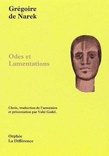 Odes et lamentations (Orphée)