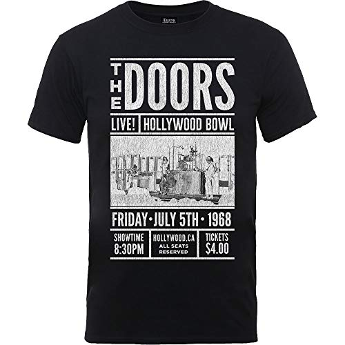 Rockoff Trade The Doors Advance Final, Camiseta para Hombre, Negro Black, Medium
