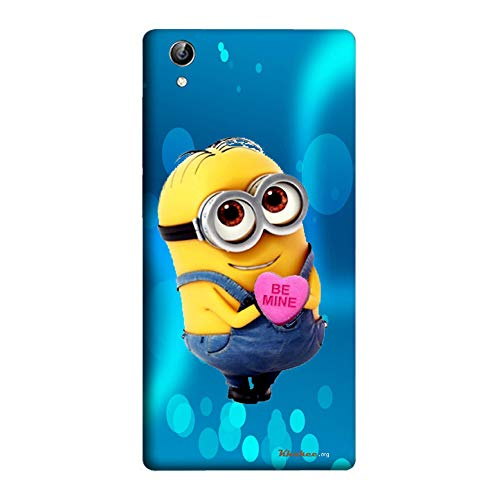 Khakee Printed Designer Minion Theme Back Cover Cases for Vivo Y51 / Y51L