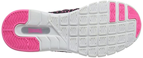 Lonsdale Carlos, Chaussures de Running Compétition Fille Pink (Pink/Black)