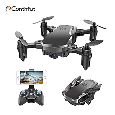 Conthfut Drone with Camera, C16W 720P FPV RC Quadcopter Drone for Kids and Beginners