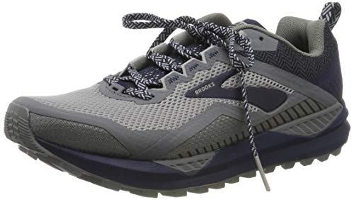 Brooks Cascadia 14, Scarpe da Running Uomo, Blu (Navy/Blue Grass/Grey 478), 46 EU