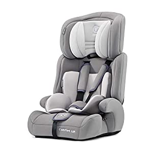 Kinderkraft Car Seat Comfort UP Child's Combination Booster Seat with 5 Point Harness Adjustable Headrest Group I/II/III (9-36kg) to Approx. 12 Years Safety Certificate ECE R44/04 Gray   8
