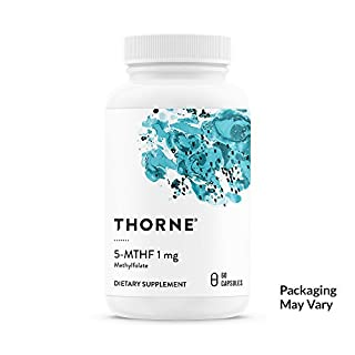 Thorne Research - 5-Mthf (5-Methyltetrahydrofolate) - 1Mg 60'S