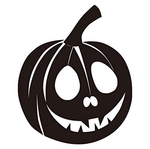 LKOBN Wandaufkleber Kürbis Gesicht Vinyl Notebook Aufkleber Halloween Dekoration Abnehmbare Home Decor 13Cm * 15Cm