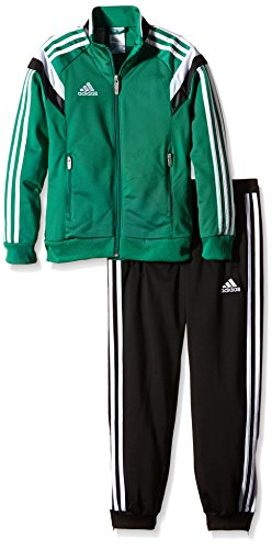 fc697058 Футбольный спортивный костюм adidas F91803. adidas Kinder Trainingsanzug  Condivo14, Twilight Green/White/Black, 116, F91803 ...