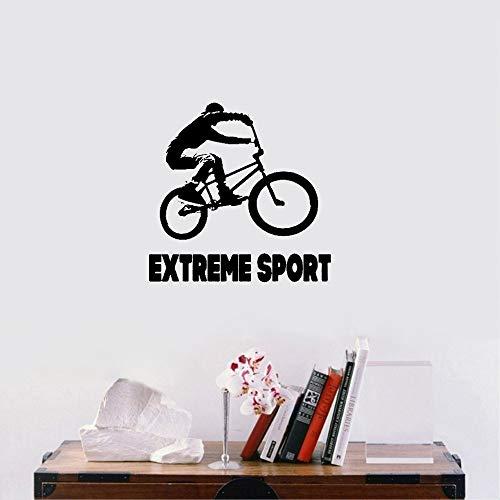 Wandaufkleber Kinderzimmer wandaufkleber 3d Sport fahrrad radfahren fahrrad wohnkultur benutzerdefinierte kunst für schlafzimmer wohnzimmer yoga zimmer (Weihnachts-kunst-projekte Für Kinder)