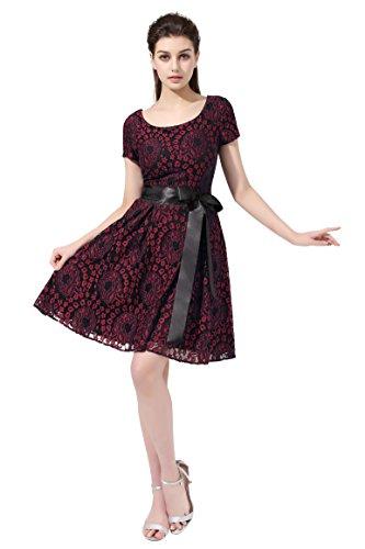dresstellsr-womens-vintage-floral-lace-contrast-bow-cocktail-evening-dress-fuchsia-size-16