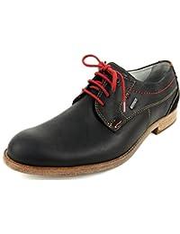 FRETZ men 71727312/26 - Zapatos de cordones de Piel Lisa para hombre marrón marrón, color marrón, talla 46