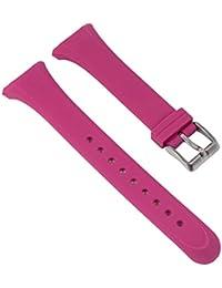 Reloj De Pulsera Banda de caucho rosa de repuesto para Calypso K5576/5K5576/todos los