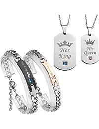 5e9398284350 Amazon.es  regalos para san valentin - Juegos de joyas   Mujer  Joyería