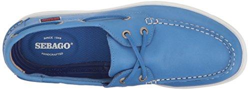 Sebago B411970 Scarpe Midi Da Donna In Pelle Blu