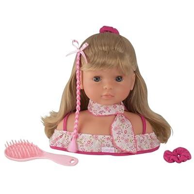 Corolle P5119 Miss Corolle - Busto de muñeca para peinados por Corolle