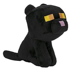 JINX 9295 Minecraft - Peluche de Gato Negro