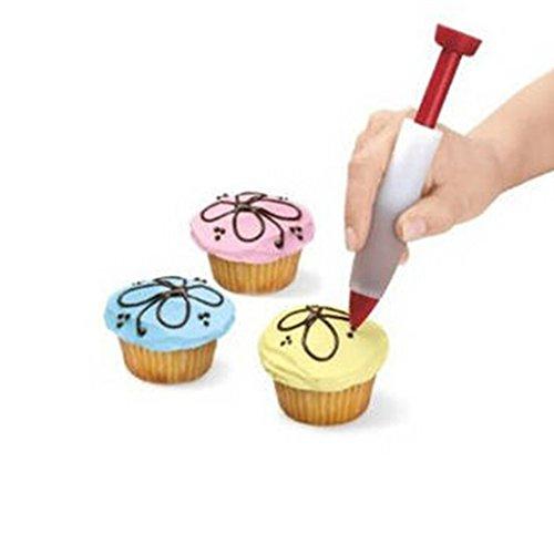Gourmet gâteau biscuit biscuits écrivain stylo décoration design injection par seringue