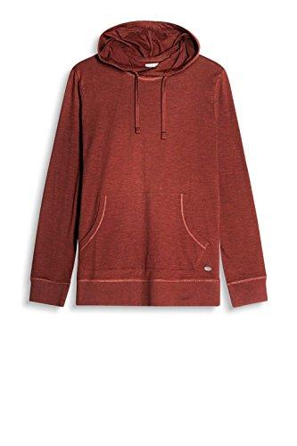 ESPRIT Herren Langarmshirt 087ee2k014 Rot (Bordeaux Red 600)