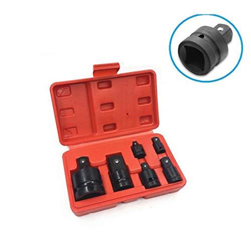 Reducer-adapter-set (F-blue 6PCS 1/2 3/4 3/8 1/4 Ratsche Buchse Adapter Adapter-Set Spanner Set Converter Laufwerk Reducer Air Wrench Set)