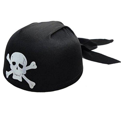 Black Temptation Halloween-Kostüm-Party Dress Up Pirate Hat Seemann Cap Cosplay-A3