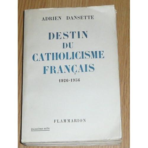 Destin du catholicisme français