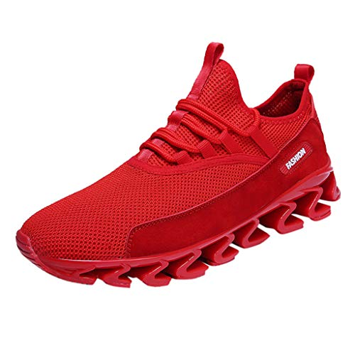 ABsoar Schuhe Herren Sneaker Bequem Casual Turnschuhe Outdoor Atmungsaktiv Laufschuhe Sportschuh Bergsteigen Schuhe Schnürer Sneaker
