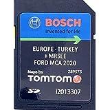 Nieuwste SD-KAART 2020/2021 voor Ford MCA SD Card 2020/2021 Touchscreen - FOCUS, KUGA, MONDEO, S-MAX, GALAXY - Dekking Heel E
