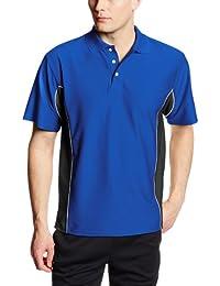 MJ Soffe Men's Texture Polo Shirt