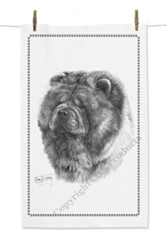 mike-sibley-chow-chow-dog-white-tea-towel-by-c-s-products