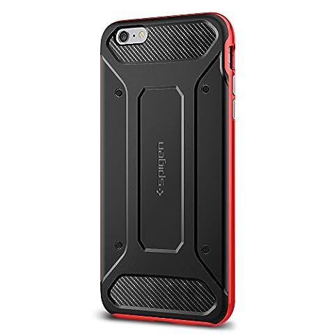 Coque iPhone 6s Plus, Spigen [Neo Hybrid Carbon] Carbon Fiber [Dante Red] Slim Fit + Reinforced bumper protection Pour iPhone 6 Plus (2014) / 6s Plus (2015) - Dante Red (SGP11668)