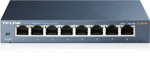TP-Link TL-SG108 Switch Desktop 8 Porte RJ45...