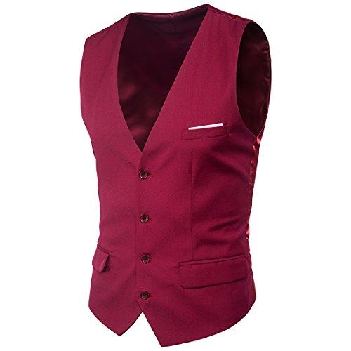 Fangcheng Männer Kleid Anzüge Weste Plus Size Fashion Slim Fit Hochzeit Männer Weste Formale Patchwork Anzug Weste